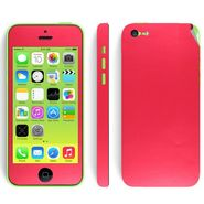 Snooky 20680 Mobile Skin Sticker For Apple Iphone 5C - Red