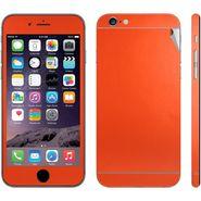 Snooky 20686 Mobile Skin Sticker For Apple Iphone 6 - Orange