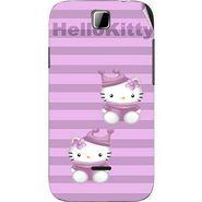 Snooky 42414 Digital Print Mobile Skin Sticker For Micromax Ninja 3.5 A54 - Pink