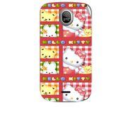 Snooky 42457 Digital Print Mobile Skin Sticker For Micromax Ninja A89 - Red