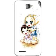 Snooky 42530 Digital Print Mobile Skin Sticker For Micromax Canvas Mad A94 - White