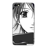 Snooky 42813 Digital Print Mobile Skin Sticker For Micromax Bolt D321 - Grey