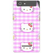 Snooky 42866 Digital Print Mobile Skin Sticker For XOLO A500s - Pink
