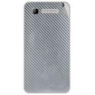 Snooky 43158 Mobile Skin Sticker For Intex Aqua 3g - silver