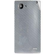 Snooky 43230 Mobile Skin Sticker For Intex Aqua HD - silver