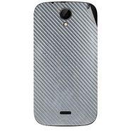 Snooky 43242 Mobile Skin Sticker For Intex Aqua i3 - silver