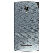 Snooky 43361 Mobile Skin Sticker For Intex Aqua N8 - silver