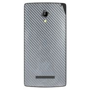 Snooky 43362 Mobile Skin Sticker For Intex Aqua N8 - silver