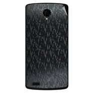 Snooky 43476 Mobile Skin Sticker For Intex Aqua Star Power - Black