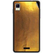 Snooky 43485 Mobile Skin Sticker For Intex Aqua Style - Golden