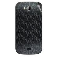 Snooky 43536 Mobile Skin Sticker For Intex Aqua Wonder - Black