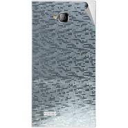 Snooky 43553 Mobile Skin Sticker For Intex Aqua Y2 - silver