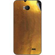Snooky 43569 Mobile Skin Sticker For Intex Aqua Y2 Remote - Golden