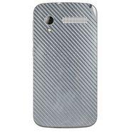 Snooky 43602 Mobile Skin Sticker For Intex Cloud Y12 - silver