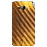 Snooky 43617 Mobile Skin Sticker For Intex Aqua N15 - Golden