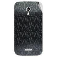 Snooky 44028 Mobile Skin Sticker For Micromax Canvas Lite A92 - Black