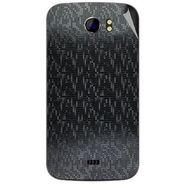 Snooky 44160 Mobile Skin Sticker For Micromax Canvas 2 A110 - Black