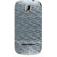 Snooky 44405 Mobile Skin Sticker For Xolo A500 - silver