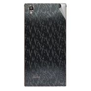 Snooky 44460 Mobile Skin Sticker For Xolo A550S IPS - Black