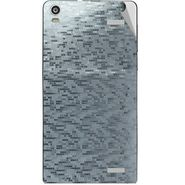 Snooky 44489 Mobile Skin Sticker For Xolo A1000s - silver