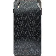 Snooky 44496 Mobile Skin Sticker For Xolo A1010 - Black