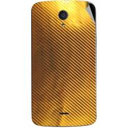 Snooky 44505 Mobile Skin Sticker For Xolo Omega 5.0 - Golden
