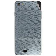 Snooky 44633 Mobile Skin Sticker For Xolo Q900s - silver