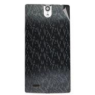Snooky 44664 Mobile Skin Sticker For Xolo Q1010i - Black