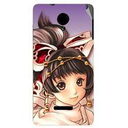 Snooky 45910 Digital Print Mobile Skin Sticker For Micromax Canvas Fun A74 - Multicolour