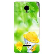 Snooky 45914 Digital Print Mobile Skin Sticker For Micromax Canvas Fun A74 - Green
