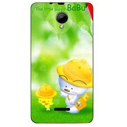 Snooky 45946 Digital Print Mobile Skin Sticker For Micromax Canvas Fun A76 - Green
