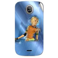 Snooky 46012 Digital Print Mobile Skin Sticker For Micromax Ninja A89 - Blue