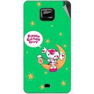 Snooky 46104 Digital Print Mobile Skin Sticker For Micromax Ninja A91 - Green
