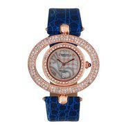 Exotica Fashions Analog Round Dial Watch For Women_Efl15w1 - White & Grey