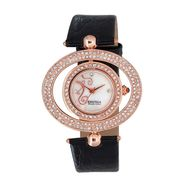 Exotica Fashions Analog Round Dial Watch For Women_Efl17w54 - White