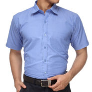 Rico Sordi Half Sleeves Stripes Shirt_R004hs - Blue