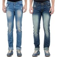 Pack of 2 Faded Slim Fit Jeans_2cmfr3