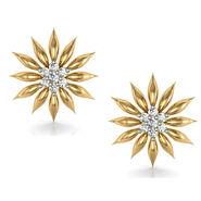 Avsar Real Gold and Swarovski Stone Kashmir Earrings_Ave025yb
