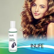 INLIFE Paraben Free Herbal Hair Oil 200 ml For Deep Nourishment