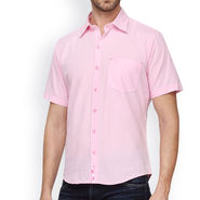 Crosscreek Cotton Casual Shirt_980324 - Pink