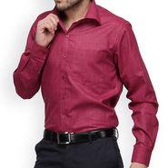 Copperline Cotton Rich Formal Shirt_CPL1165 - Dark Pink