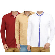 Pack of 3 Casual Shirts For Men_16019021