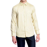 Brohood Slim Fit Full Sleeve Shirt For Men_A5032 - Yellow