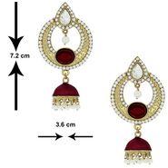 Spargz Alloy Metal Earring_Aier176