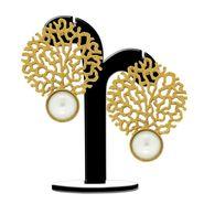 Spargz Brass Metal Earring_Aier306