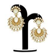 Spargz Brass Metal Earring_Aier382