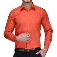 Being Fab Cotton Formal Shirt_Bfs15 - Orange