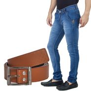 Stylox Jeans With Belt_Dnb2312014
