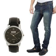 Stylox Jeans With Watch_Dnwh2023