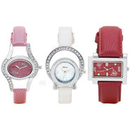Pack of 3 Adine Analog Wrist Watches For Women_R120314